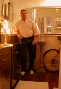 my nyc (greenwich village) apartment (2 rooms, total: 300 sq. ft., renovated by me), from 1975-2003 (kitchen area)